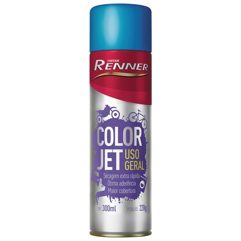 Spray vermelho 300ml 1735 - Renner Spray preto brilhante 300ml 1704 - Renner