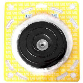 Disco de borracha com boina de lã +adaptador kit M-2