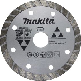 Disco diamantado granito marmore seco D-42553- Makita