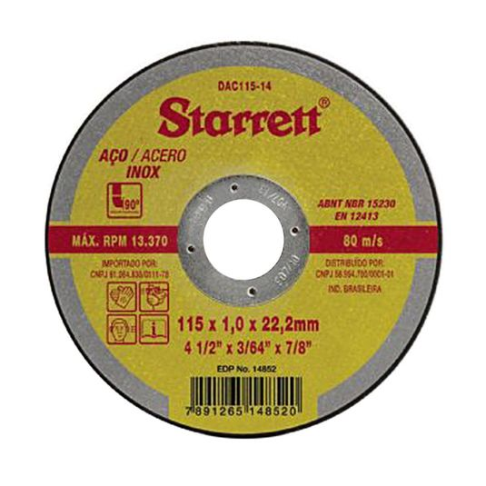 disco-de-corte-dac-115-14--4.1-2-x-1.0mm-x-7-8-starrett
