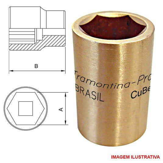soquete-sextavado-cube-46mm---enc.-3-4----44216-046-tramontina-pro