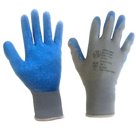 """Luva tricotada c/banho de latex tamanho """"xg"""" super safety"""