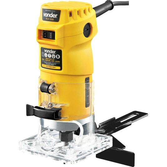 """Tupía manual 550 watts com pinça de 6m/m e 1/4"""" tlv 550 - vonder"""