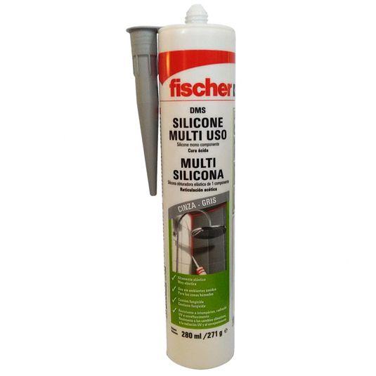 Silicone-Acetico-271gr-cinza-Fischer