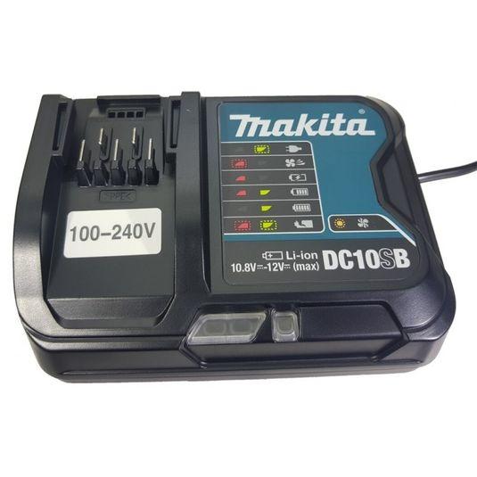 Carregador de bateria 10.8V -12v dc10sb bivolt makita
