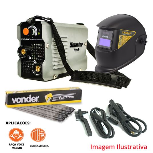 kit-inversora-evo80c-mascara-automatica-eletrodo-6013-2-5mm