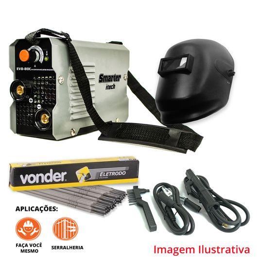 kit-inversoraevo80c-mascara-deltaplus-wps0810-eletrodo-6013