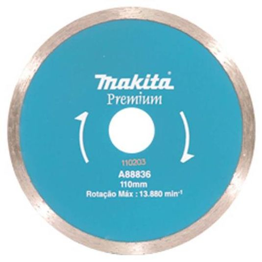Disco diamantado liso concreto mak-fast a88836 - makita