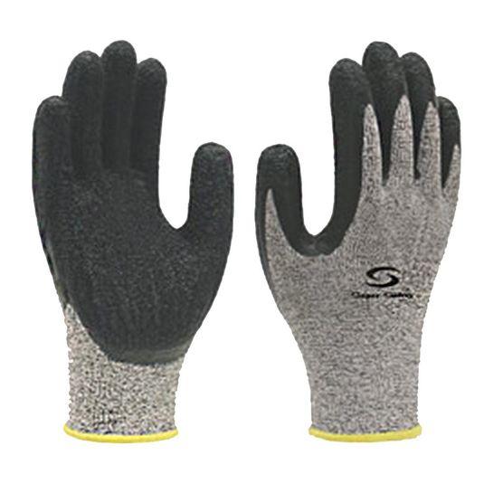 """Luva tricotada c/fios de fibra tamanho """"g"""" super safety"""