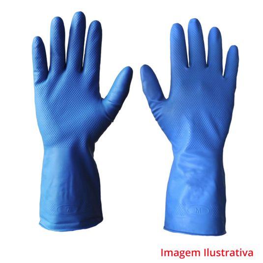 Luva-nitrilica-super-glove-azul-super-safety
