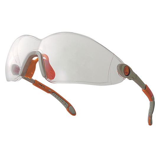 Óculos de proteção incolor vulcano2 clear delta plus