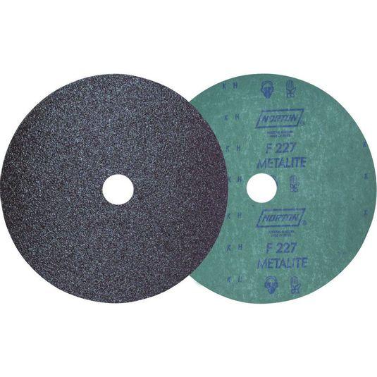 """Disco de lixa em fibra 4.1/2"""" (115 mm) Grão # 100 f-227 / norton"""