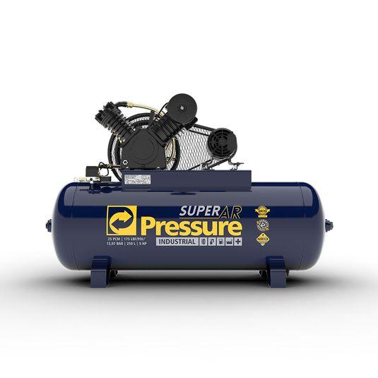 compressor-de-ar-25-pes-250-litros-em-v-super-ar-175-libras-psi-5-hp-trifasico-ip55-220-380v-pressure