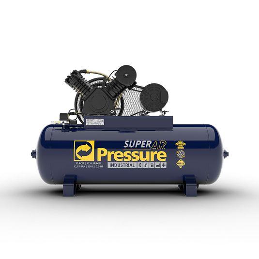 compressor-de-ar-30-pes-250-litros-em-v-super-ar-175-libras-psi-7-5-hp-trifasico-pressure