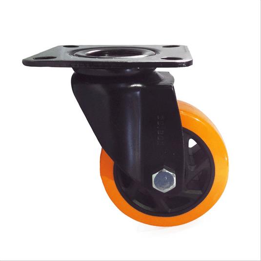 rodizio-giratorio-com-placa-6-linha-black-poliuretano-pu-colson